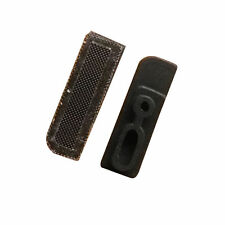 20 X Ear Speaker Anti Dust Mesh w/ Rubber Frame Holder and Adhesive For iPhone 5