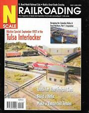 N Scale Railroading #17 2003 Freight Car Loads Tulsa Interlocker Helix Tender