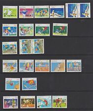 AUSTRALIA 1989 -91 Sports definitives incl booklet pairs