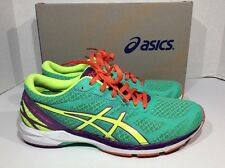ASICS Womens Gel DS Racer 10 Women's Size 8 Green Running Athletic Shoes ZG-249