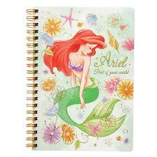 Disney Store Japan Little Mermaid Princess Ariel Ring Notebook