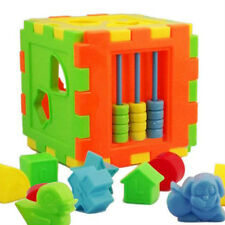 1 Set  Baby Cognitive Assembled Block Kids Toys Hand Head Moving Educational