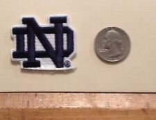 NOTRE DAME.              NICE IRON ON PATCH.        BUY 2 & GET 1 FREE