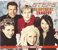 STEPS - Heartbeat/Tragedy (UK 3 Trk CD Single)