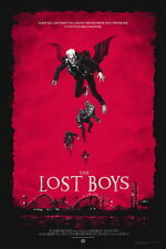 "007 The Lost Boys - 1987 American Horror Film Movie 14""x21"" Poster"