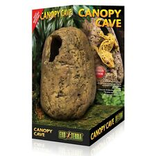 Exo Terra Canopy Cave  Reptile hide out  Arboreal nesting shelter