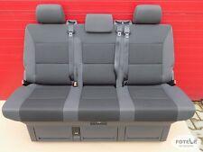 VW T5 Sitzbank Multivan Sitz Schlafbank  seat bench Anthrazit Team