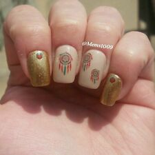 Dreamcatcher Nail decals (Water Decals) Native American Nail Decals