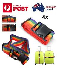 4x Travel Packing Luggage Suitcase Secure Safe Strap Tie Belt Accessories