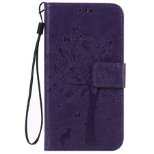 Leather Wallet Cards Holder Stand Case Flip Cover for iPhone/Samsung/LG/Huawei