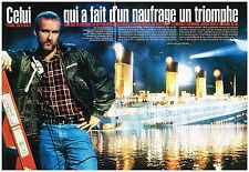 Coupure de presse Clipping 1998 (8 pages) Film Titanic par James cameron