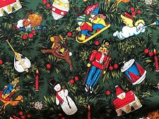 "Cotton Fabric ""We Need a Little Christmas"" Nicole de Leon Alexander Henry BTHY"