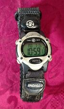 Ladies Gray TIMEX EXPEDITION INDIGLO WR 100M Digital Date Watch