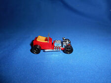 T-BUCKET HOT ROD Red Rooster FORD MODEL T Plastic Toy Car Kinder Surprise