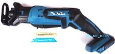 New Makita 18V XRJ01 Compact Cordless Battery Reciprocating Saw 2 Blades 18 Volt