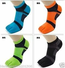 3 pairs new five finger toe socks men sports socks antibacterial deodorant