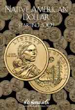 Native American Dollar Coin Folder Album Starting 2009 by H.E. Harris