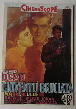 Carte postale Film Gioventu Bruciata James Dean , Nathalie Wood    postcard