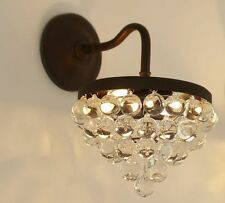 POTTERY BARN Callia Crystal Sconce,  NEW - In BOX- Beautiful