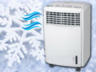 NEW PORTABLE EVAPORATIVE 3 SPEED OSCILLATING FAN AIR COOLER COLD WITH TIMER 60w