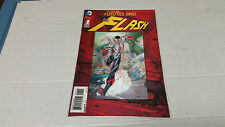 The Flash: Futures End # 1 3D Lenticular Motion Cover (DC, 2014)