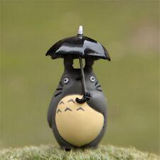 Studio Ghibli My Neighbor Totoro Holding Umbrella Mini PVC Figure Xmas Gift