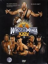 WWE Wrestling - Wrestlemania XXIV 24 (3-DVD-Set)