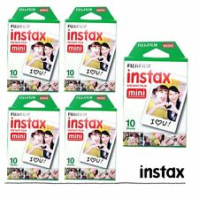 Fujifilm Instax White Film 50pcs For Fuji Mini 90 8 25 300 50s 70 Camera SP-1 US