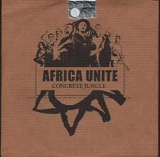 "AFRICA UNITE - RARO CDs PROMO "" CONCRETE JUNGLE "" BOB MARLEY"