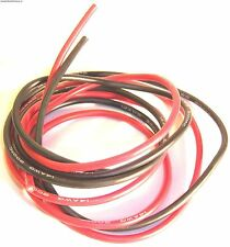 C1307-6 6AWG 6 AWG Battery Silicone Wire 50cm 500mm Red and Black