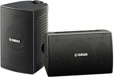 NEW Yamaha NS-AW294 Indoor/Outdoor Speaker System Pair 2-Way Black Weatherproof