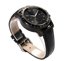 T2 HD BLUETOOTH SMART ROUND STAINLESS STEEL WRIST WATCH with 3.0MP CAMERA BLACK*