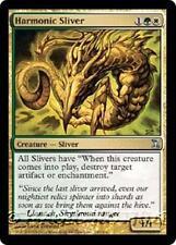 HARMONIC SLIVER Time Spiral MTG Gold Creature — Sliver Unc