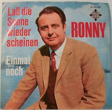 """RONNY - LAß DIE SONNE WIEDER SCHEINEN - EINMAL NOCH -TELEFUNKEN (F194] 7""""SINGLES"""