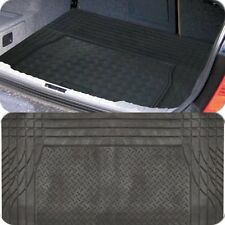 Black Heavy Duty Rubber Boot Mat Liner for Citroen C4 Grand Picasso 06 Onwards