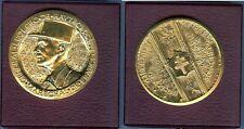 Médaille de table - Albert de Jaeger Général Leclerc libération de Paris août 44