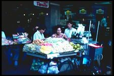 147032 Bangkok Food Stands A4 Photo Print
