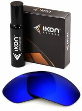 Polarized IKON Replacement Lenses For Oakley X-Metal Juliet Deep Blue Mirror