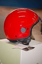 All New Genuine Vespa Aviator Helmet - Red - Size X Small