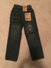 BOYS SIZE 6 REG ARCHITECT JEANS RELAXED FIT BLUE DENIM NEW