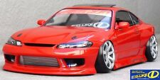 D-Like 1/10 RC NISSAN S15 SILVIA F198mm R200mm Clear Body Drift Pandora Yokomo