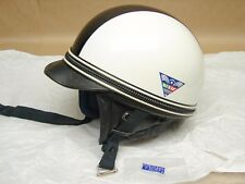 Vintage NOS Motorcycle Half Shell Helmet Dixie Vepo Made Italy 7 1/8 Buco Bell
