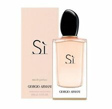 SI BY GIORGIO ARMANI *WOMEN'S PERFUME* 3.4 O.Z EAU DE PERFUM SPR *NEW SEALED BOX