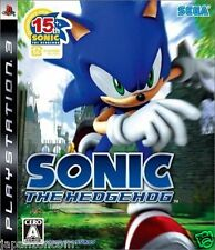 Used PS3 Sonic The Hedgehog SONY PLAYSTATION 3 JAPAN JAPANESE IMPORT