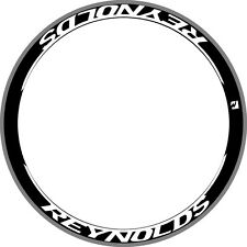 REYNOLDS DEEP RIM WHEEL DECALS STICKER Replacement 700C STYLE KIT FOR 2 WHEELS