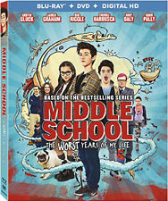 Middle School: Worst Years Of My Life (2017, Blu-ray NEUF)