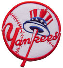 MLB New York Yankees Logo Baseball embroidered iron-on patch. 3 inch (i25)