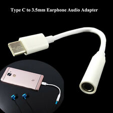 USB 3.1 Type-C to 3.5mm Earphone Headset Cable Convertor