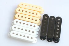 Stratocaster Pickup Covers Pole Spacing 52 mm. White Cream Black Available
