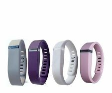 Replacement Bands For Fitbit Flex Band SMALL Steel, Grape,White, Orchid 4 Clasp